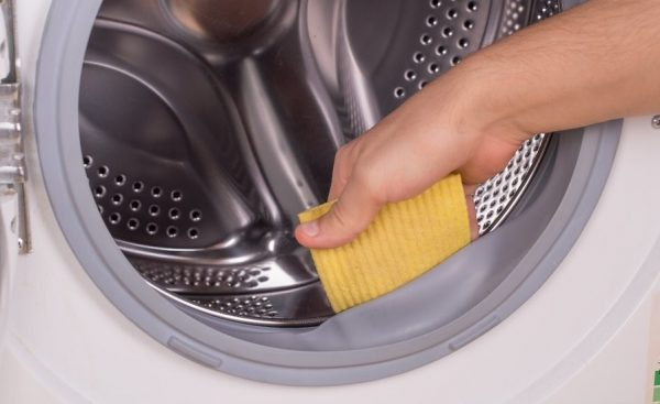 how to clean mold from front load washer gasket