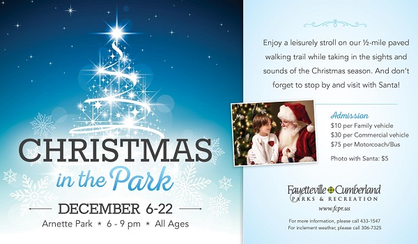 christmas events in fayetteville
