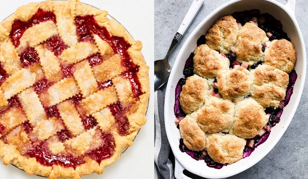 what's the difference between a cobbler and pie