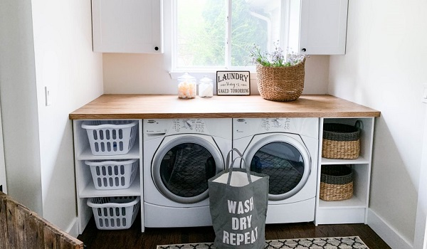 How To Clean And Organize Your Laundry Room Moore Appliance Service