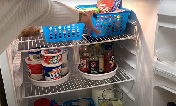 back to school refrigerator organization ideas