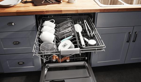 kitchenaid dishwasher loading