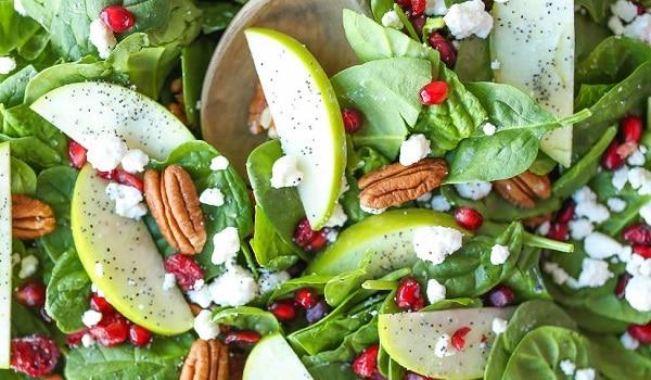 Cranberry Apple Pecan Salad